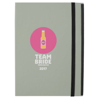 "Team bride Vancouver 2017 Henparty Zkj6h iPad Pro 12.9"" Case"