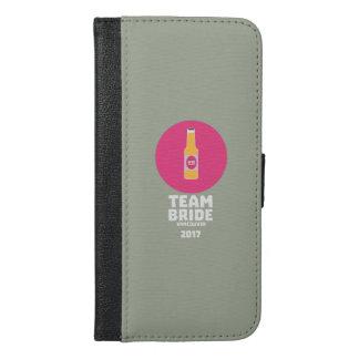 Team bride Vancouver 2017 Henparty Zkj6h iPhone 6/6s Plus Wallet Case