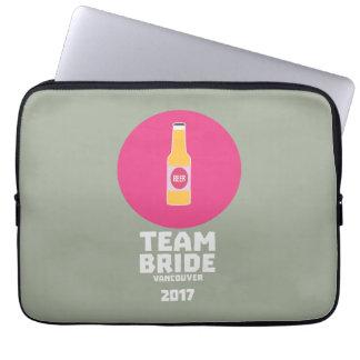 Team bride Vancouver 2017 Henparty Zkj6h Laptop Computer Sleeve