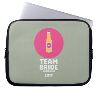Team bride Vancouver 2017 Henparty Zkj6h Laptop Sleeve