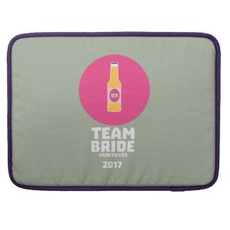 Team bride Vancouver 2017 Henparty Zkj6h Sleeve For MacBook Pro