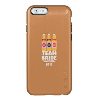 Team Bride Vancouver 2017 Z13n1 Incipio Feather® Shine iPhone 6 Case