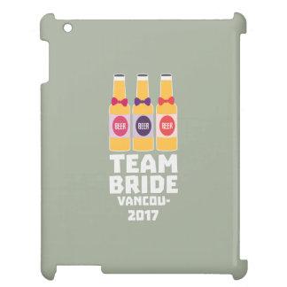 Team Bride Vancouver 2017 Z13n1 iPad Case