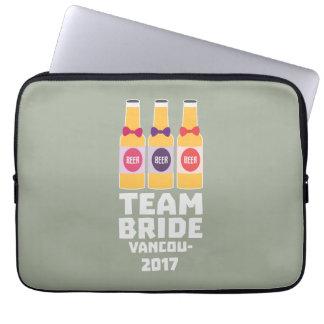 Team Bride Vancouver 2017 Z13n1 Laptop Sleeve