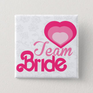TEAM BRIDE,wedding 2 Inch Square Button