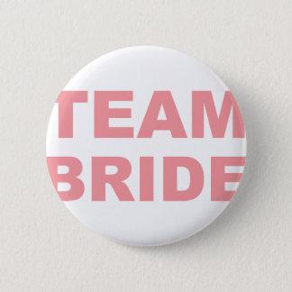 Team Bride Wedding Hen Party 2 Inch Round Button