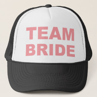 Team Bride Wedding Hen Party Trucker Hat