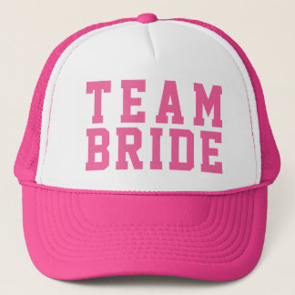 Team Bride Wedding Party Cap