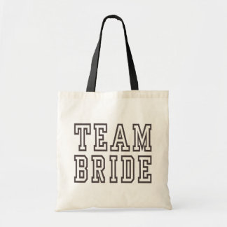 TEAM BRIDE | WEDDING TOTE