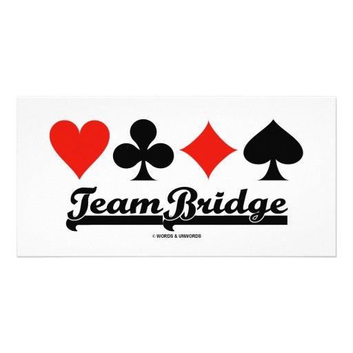 Team Bridge Picture Card