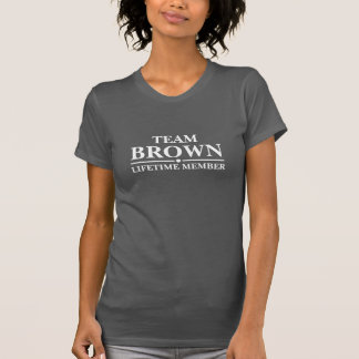 Team Brown Lifetime Member T-Shirt