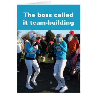 Team-building card