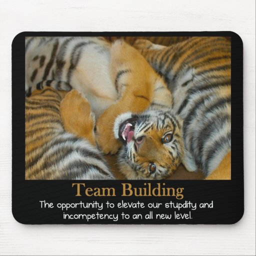 Team Building Mouse Pad