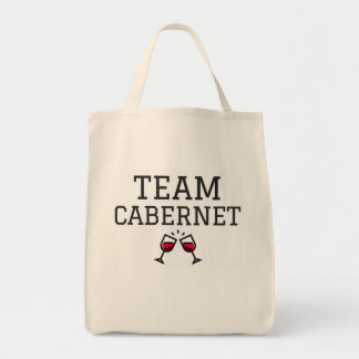 Team Cabernet Tote Bag
