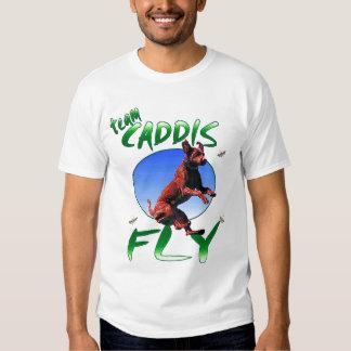 team caddis dark shirt