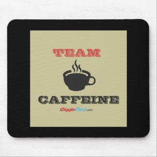 Team Caffeine Mouse Pad