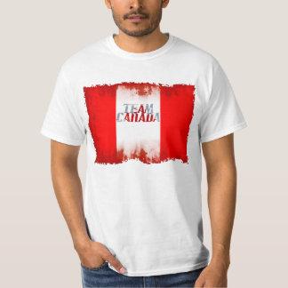 TEAM CANADA FLAG Olympics Sport Patriotic Shirt