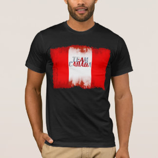TEAM CANADA FLAG Olympics Sport Patriotic Shirt