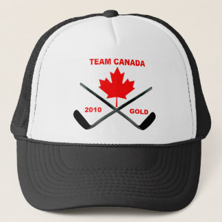 TEAM CANADA-GOLD-HAT TRUCKER HAT