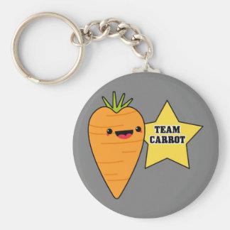 Team Carrot Keychain