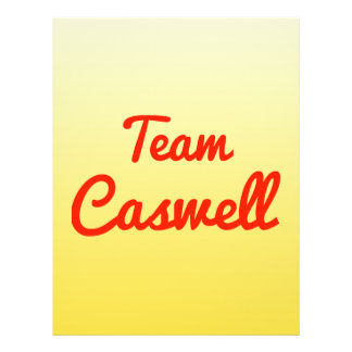 Team Caswell Flyer Design