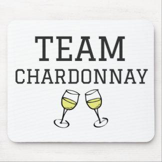 Team Chardonnay Mouse Pad