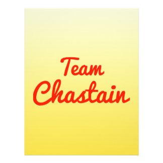 Team Chastain Flyer Design