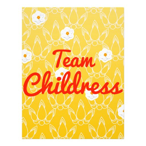 Team Childress Full Color Flyer