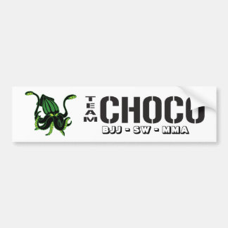 Team-Choco Bumper Stickers