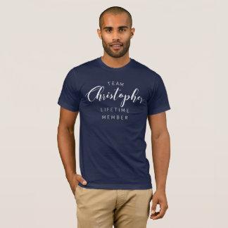 Team Christopher lifetime member T-Shirt