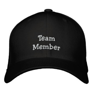 Team Club Embroidered Cap Hat Baseball Cap