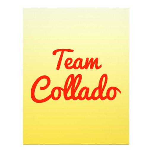 Team Collado Flyer Design