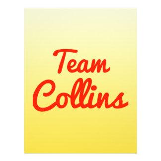 Team Collins Flyer Design