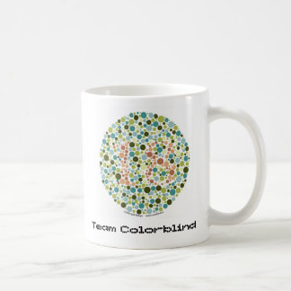 Team Colorblind Coffee Mug