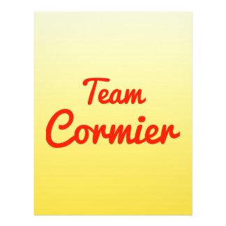 Team Cormier Custom Flyer