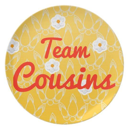 Team Cousins Plate