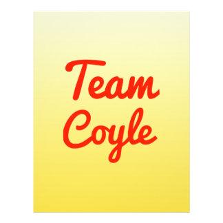 Team Coyle Custom Flyer