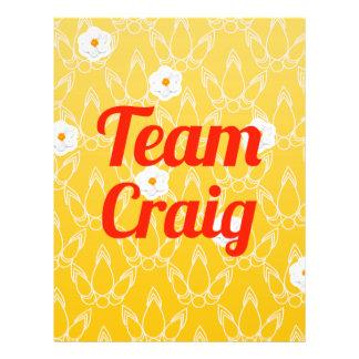Team Craig Flyer
