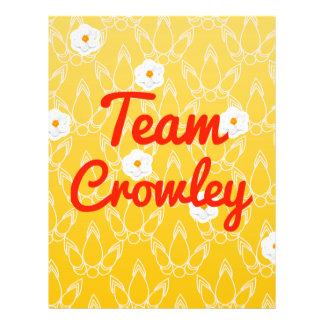 Team Crowley Flyer