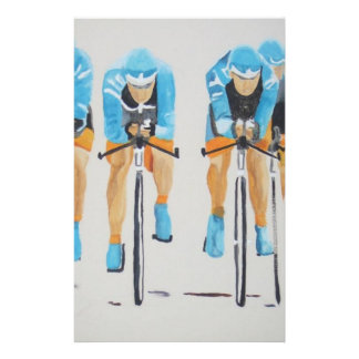 team cycle race stationery