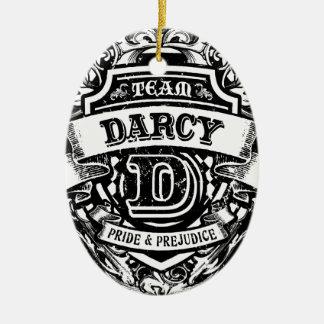Team Darcy Ceramic Ornament