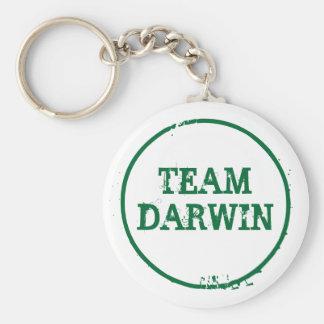 TEAM DARWIN (keyring) Basic Round Button Keychain