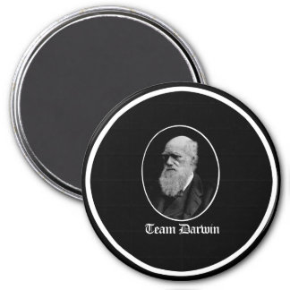 Team Darwin - Team Evolution - - Pro-Science - - w 3 Inch Round Magnet