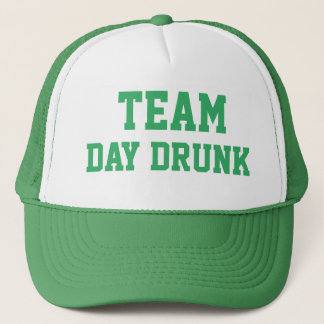 TEAM DAY DRUNK ST. PATRICK'S DAY CAP