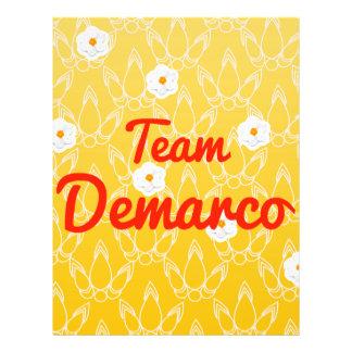 Team Demarco Flyer