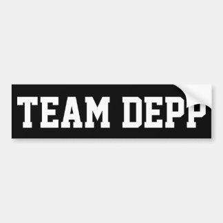 """TEAM DEPP"" BUMPER STICKER"
