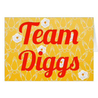 Team Diggs Card