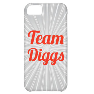 Team Diggs iPhone 5C Covers