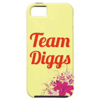 Team Diggs iPhone 5 Covers