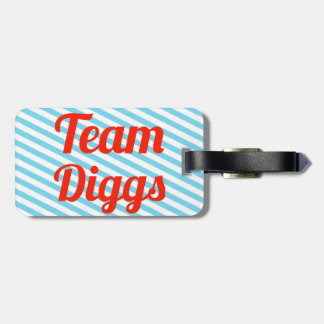 Team Diggs Tags For Bags